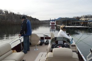 Lake Taneycomo Pontoon Trout Fishing