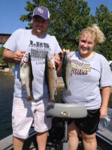 Lake Taneycomo Pontoon Trout Fishing Guide Service