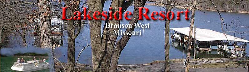 Branson Missouri Lodging on Table Rock Lake